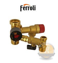 Ferroli hidraulikai egység kpl Domicompact régi 39808630 (39812130 38410450)