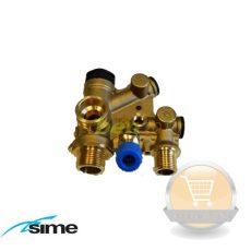 Sime váltószelep hidraulikai egység Brava One Slim  előremenő armatúra 6265870