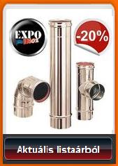 Expoinox kémények -20% kedvezménnyel