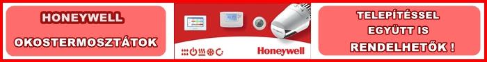 Honeywell alkatrészek, okostermosztátok, korszerű vezeték nélküli technológia